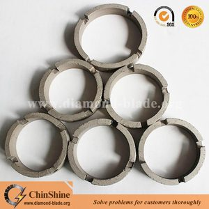 High quality diamond core drill bit ring segment for drilling reinforced concrete