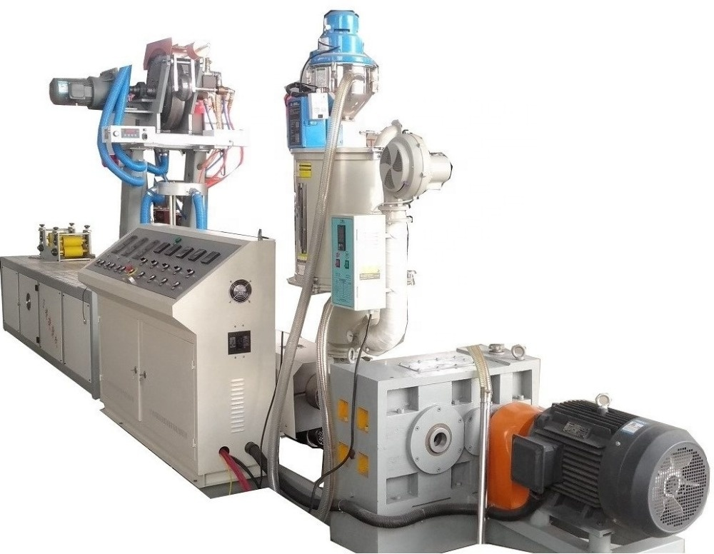 Machine van druppelirrigatie tape/PE druppelirrigatie pijp extrusie machine/labyrint soort druppelirrigatie tape extrusie machine