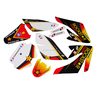 popular pit bike parts 3M graphic sticker design for motorcycle CRF 70CC dirt bike