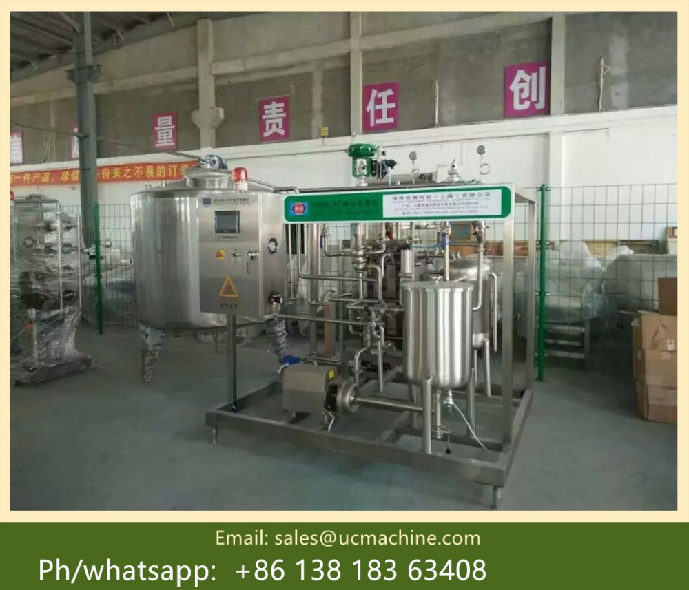 small scale milk pasteurizer and homogenizer