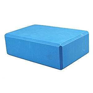 Blue Women 1pc Foaming Foam Yoga Block Brick Home Exercise Practice Fitness  Gym Sport Fitness Stretching Tool 420414a409
