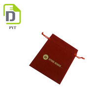 Hand Made Square Style Custom Wholesale Cell Phone Nylon Drawstring Pouch