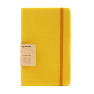 Wholesale basic fabric Linen Cloth Hardcover Custom Paper Notebook planner Journals with Inner Thick Paper Made in China