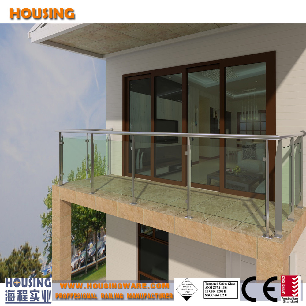 ss steel railings and handrails with glass