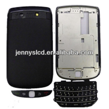 Original cell phone full houding for blackberry 9800 housing Black