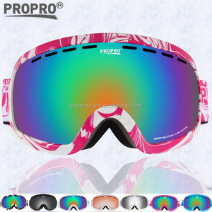 PROPRO Multi colors skiing Snowboarding Goggles Super Light Snow Goggles