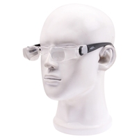 2.1X TV Magnification Glasses for Shortsightedness People Head-mounted (Range of Vision: 0 to -300 Degrees)