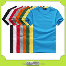 custom-made high quality promotional cheap basic cotton tshirt