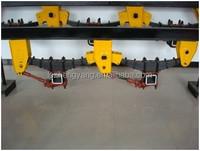 semi trailer parts of terrafirma suspension