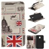 Stand Style Wallet Flip Leather Case Paiting Soft Cover for Samsung galaxy S3 S4 S5 S6 S7 edge J3 prime j5 prime j7 prime 2017