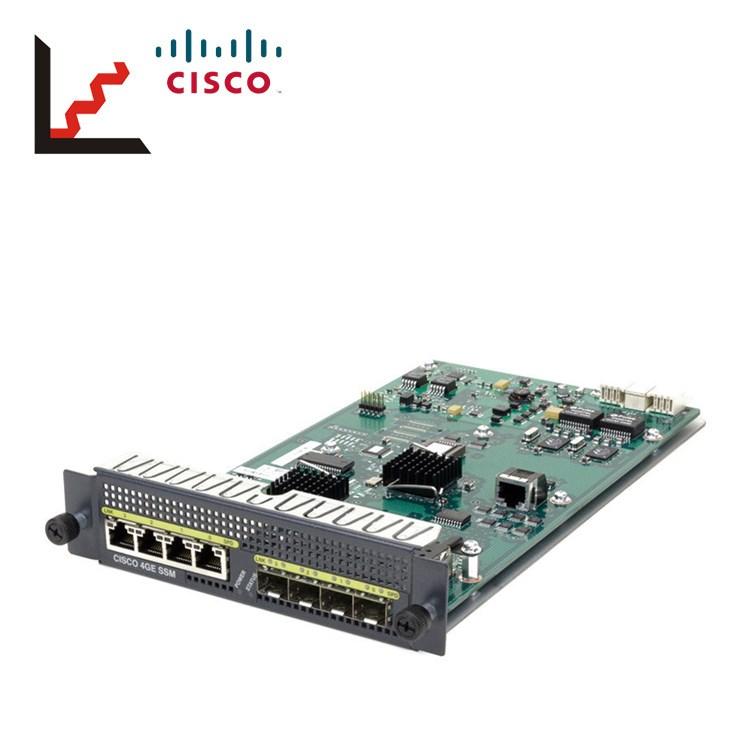 RJ-45+SFP CISCO SSM-4GE ASA 5500 4-Port Gigabit Ethernet SSM