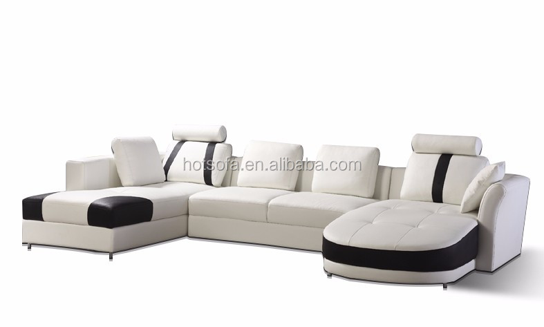 t303 italy furniture fashionable double chaise leather. Black Bedroom Furniture Sets. Home Design Ideas