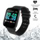 OEM Bluetooth Blood Pressure Touch GPS Bracelet Heart Rate Monitor IP68 10atm Waterproof Smartwatch For Android ios Compatible