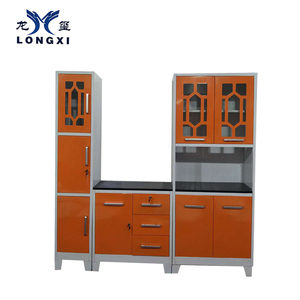 Customized high quality kitchen cabinet with curved design