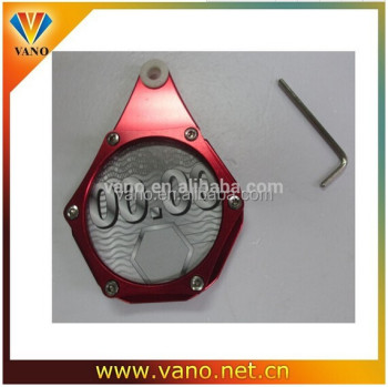 hot sell aluminium motorcycle car disc tax holder