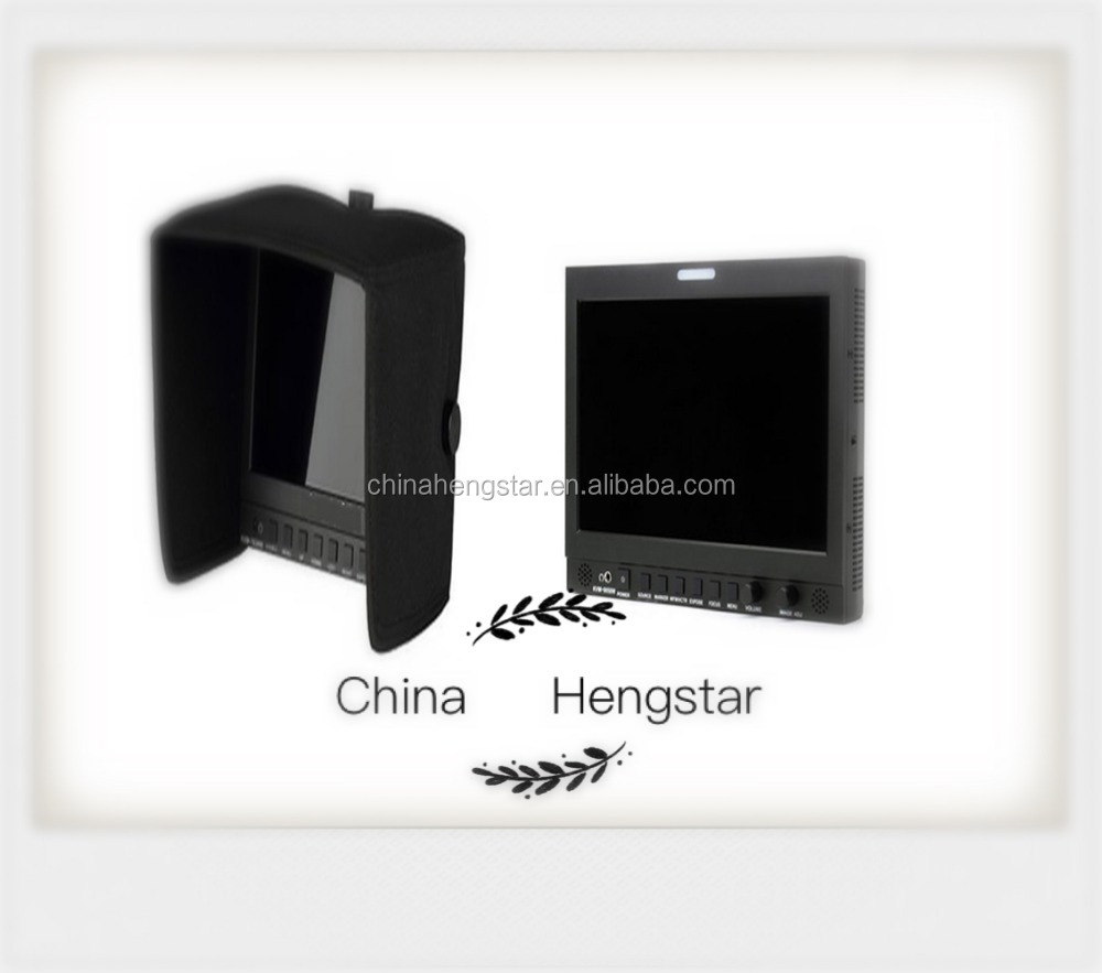 7 Inch LCD Panel High Brightness Camera-top SDI Portable Field broadcast Monitor