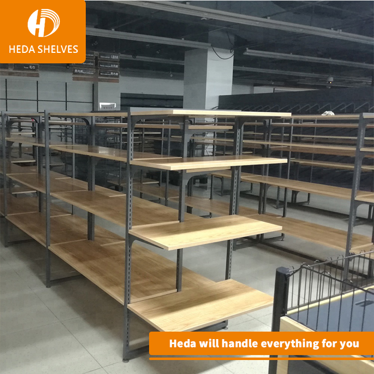 supermarket promotion wood bread display rack/food store display <strong>stand</strong>/bread display shelf