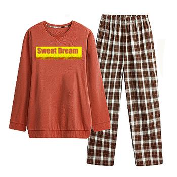 a40e87a9a6 Thermal Winter Women Sleepwear 100% Polyester Pyjamas Sets For Woman