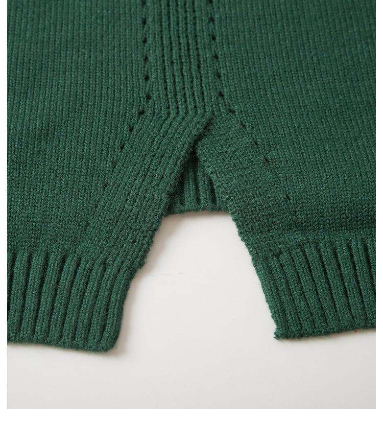 Sveglio di modo di bellezza di inverno delle ragazze dei bambini maglieria pullover maglione di disegno