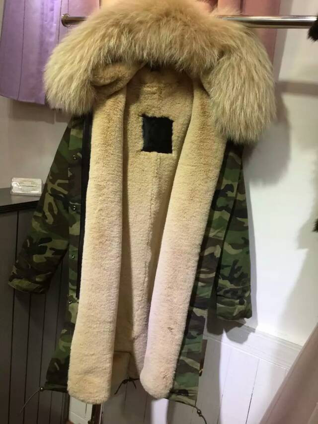 genuine shoes new styles hot products Wholesale Camouflage Parka Fur Jacket With Beige Faux Fur Lined Women Coats  - Buy Parka Fur Jacket,Fur Jacket,Woman Parka With Fur Product on ...