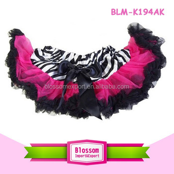 Latest Arrival Persnickety Newborn Baby Girls Mini Net Skirt Satin Baby Skirt Top