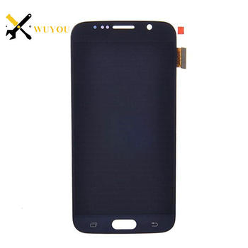 Spare parts cellphones for samsung galaxy s6 lcd screen display