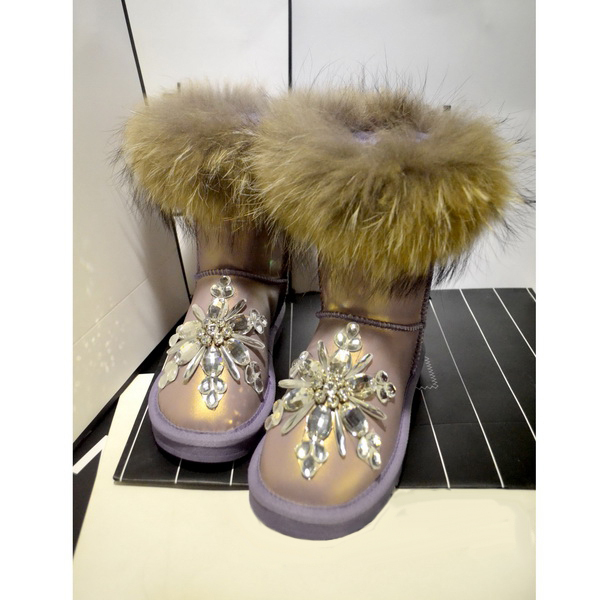 82df7dbff5b Aidocrystal 2016 NEW women winter shoes cheap snow boots Diamond Bling boots  For Girls