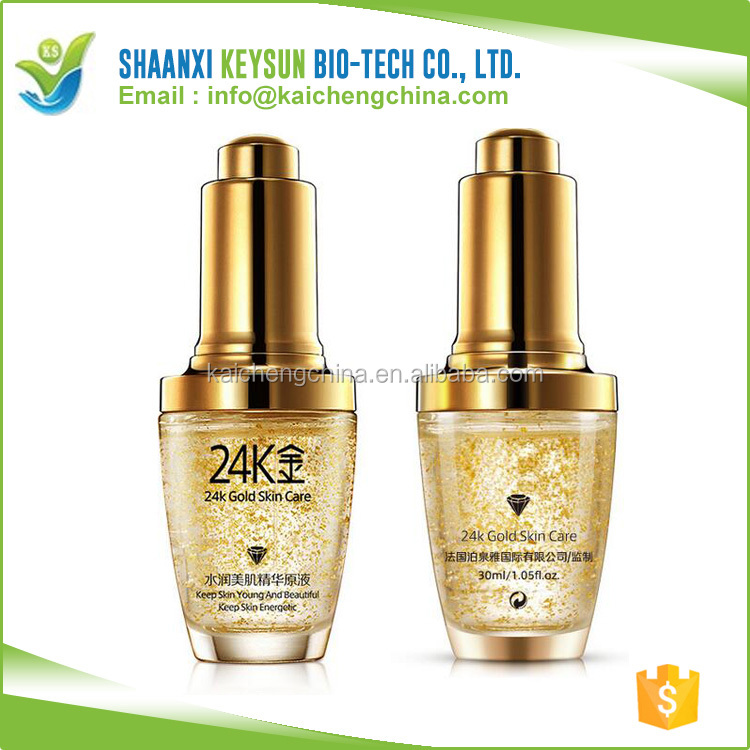 OEM Bioaqua Powerful 24K Active Gold Revive Essence Serum for Face, 24k Pure Gold Whitening Anti Wrinkle Essence