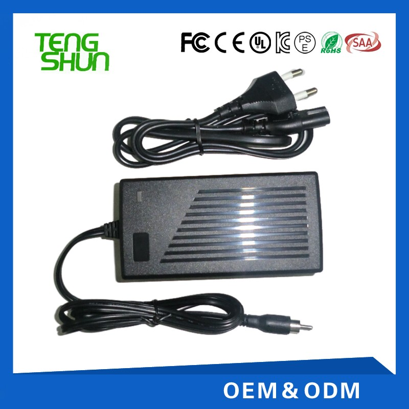 TengShun 36v / 42v 2a 4a electric bike li-ion battery charger 36v