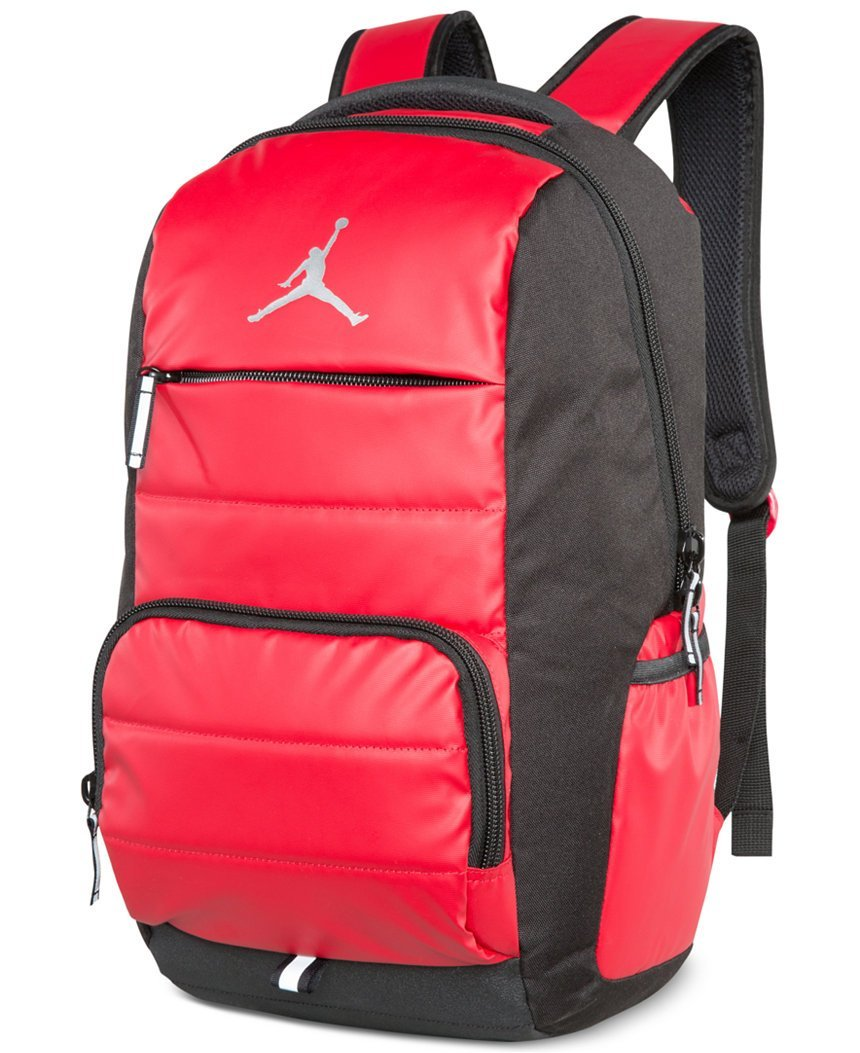 Get Quotations · Nike Jumpman Premium 9A1640-681 Laptop Bookbag Basketball  Boys Backpack - Gym Red 73d70df882116
