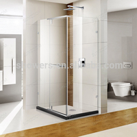 Sunzoom New Design Glass for Showers,Neo Angle Shower door