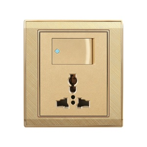 Pakistan new style EBG-01 1 gang 13A wall switch socket