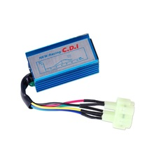 Performance Racing CDI Box Unit 6 Pin Fit For <span class=keywords><strong>GY6</strong></span> 50cc 70cc 90cc-150cc tempi Scooter ATV Ciclomotore Go Kart <span class=keywords><strong>Motore</strong></span> Bike <span class=keywords><strong>GY6</strong></span> motori