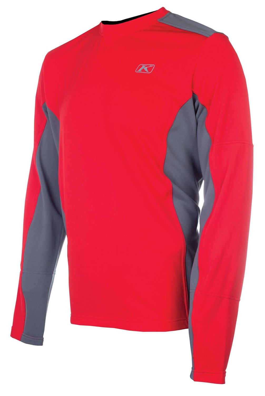 Klim Summit Tech Long-Sleeve Shirt Adult Undergarment Off-Road/Dirt Bike Body Armor - Red / Medium
