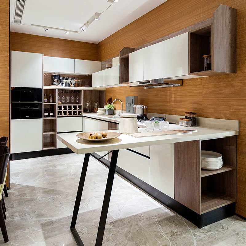 Oppein Cabinet Companies Modern White Lacquer Kitchen Cabinets Without  Handle - Buy Cabinet Companies,Lacquer Kitchen Cabinets,Kitchen Cabinets ...