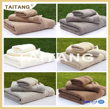 2017 high quality wholesale solid color 100% cotton hotel towels