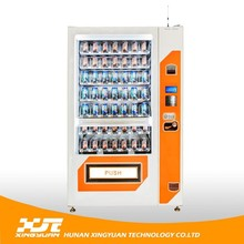 Latest fashion hot sell customized moving food vending machine