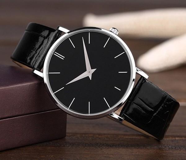 6ad4b4c0d أفضل المنتجات مبيعا 2015 أزياء كبيرة المعصم ساعات رجالية جلدية ساعة اليد  رخيصة فانسي