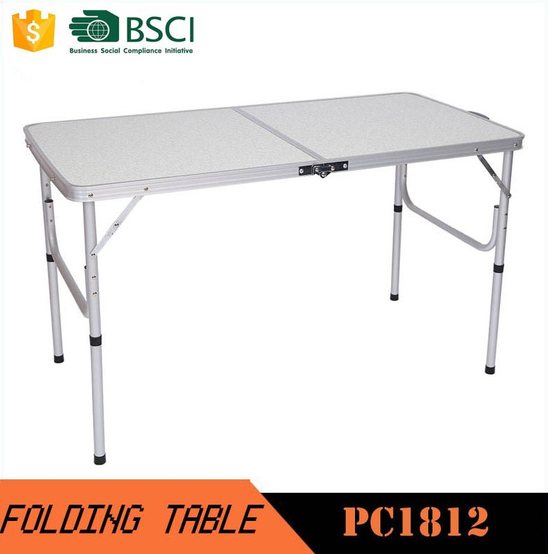 4ft Outdoor Rectanglar aluminum camping table