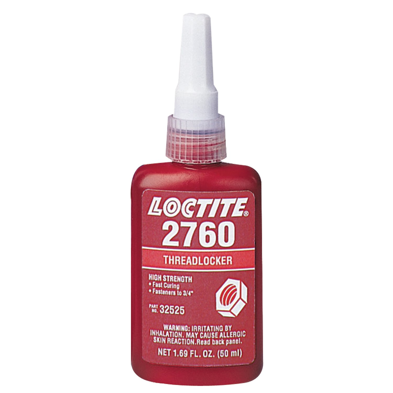 Loctite 32525 2760 Red Primerless High Strength Threadlockers, 1.69 oz, 50 mL