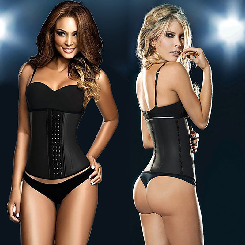 Women Waist Training Corsets Hot Shapers Waist Trainer Latex Ann Chery  Waist Cinchers trainers Corpetes espartilhos Body girdle