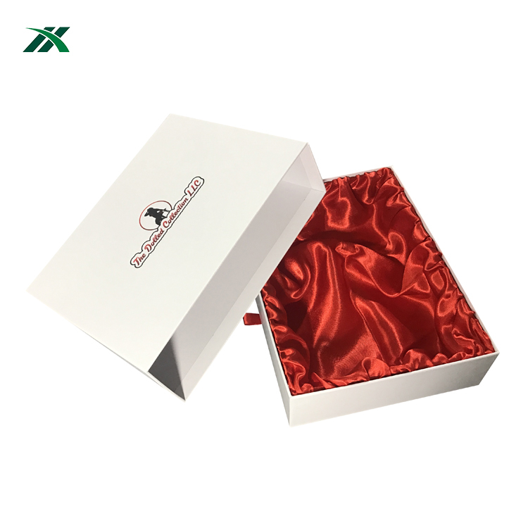 Custom Luxury Wig Hair White Packaging Gift Boxes