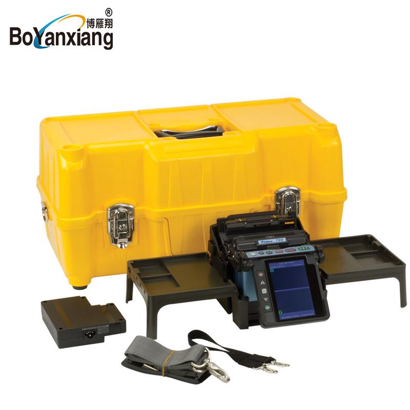Communication Equipments Original 4 Motors Arc Mfs-t60 Splicing Machine Pure White And Translucent Fiber Optic Equipments