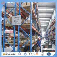 Pallet Flow Racking / Gravity Pallet Racking,fish cold storage