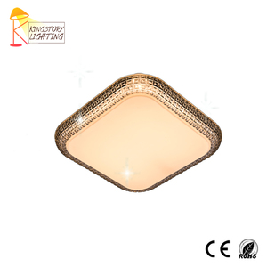 Low Price Chinese Supplier Modern Design Square Acrylic Balcony Kitchen LED Lamp Fixture Ceiling Light