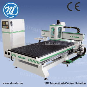 multitech itg0609 CNC router with two circle tool changers for wood engraving and cutting CNC router machine