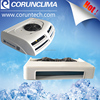 Fast cooling rooftop mounted refrigeration condensing unit for van