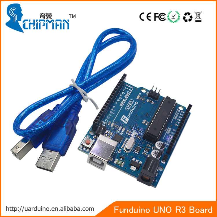 2016 Active Component Integrated Circuits Funduino Uno R3 For Uno ...