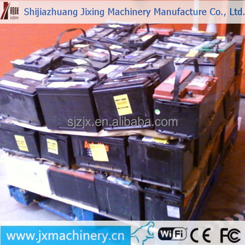 Drain used car battery scrap for sale