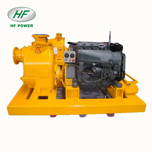 Deutz self-priming diesel engine water pump set for industrial sewage
